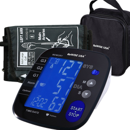 GoWISE USA Advanced Control Digital Blood Pressure Monitor
