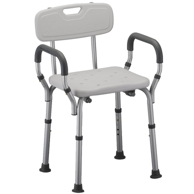 NOVA Medical Products 9026 Quick Release Shower Chair with Back
