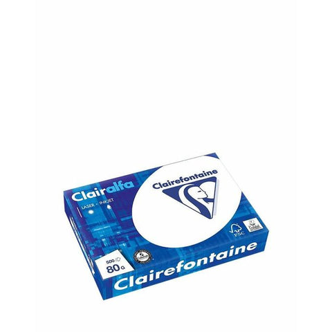 LDF Ramette Clairefontaine Blanc 80G A4 - Blanc