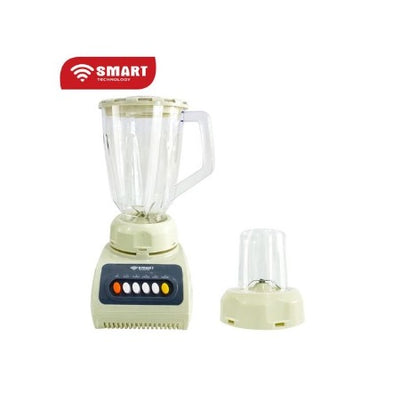 SMART TECHNOLOGY Blender  - 1.5 L - 300 W - Blanc Garantie 3 Mois