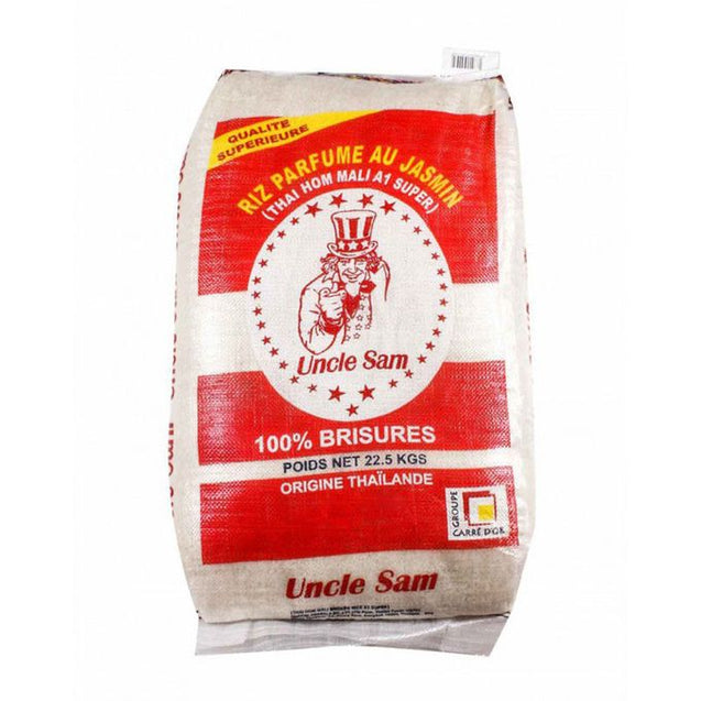 UNCLE SAM Riz Uncle Sam Rouge 100% Brisure - 22,5Kg
