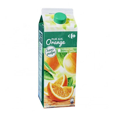 Jus D'orange Sans Pulpe 100% Fruit Pressé - 2L