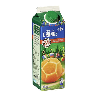 Jus D'Orange Sans Pulpe Pur Jus - 1 Litre