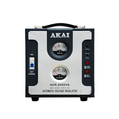 AKAI Stabilisateur De Tension Automatique 3000 VA