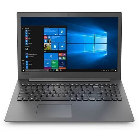 "Lenovo Ideapad 130 - 1000 Go HDD - 4Go RAM - 15,6"" - Intel Core I3 - Windows 10 - Noir-Garantie 6 Mois"
