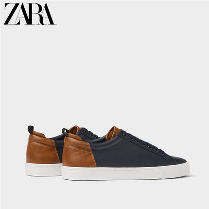 DESTOCKAGE - ZARA - Chaussure Homme Baskets Tennis à Lacets