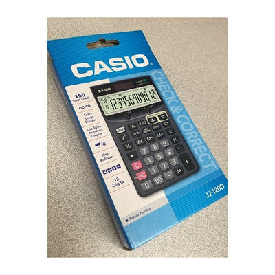 CALCULATRICE DE BUREAU CASIO JJ-120D