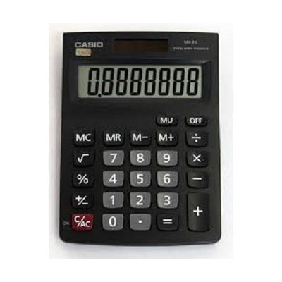 CALCULATRICE DE BUREAU MX-8S-BK