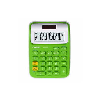 CASIO MS-6VC-GN CALCULATRICE DE POCHE