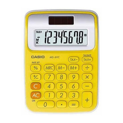 CASIO MS-6VC-YW CALCULATRICE DE POCHE