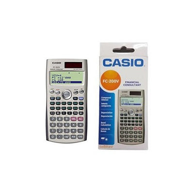 CALCULATRICE FINANCIERE CASIO -FC-200V