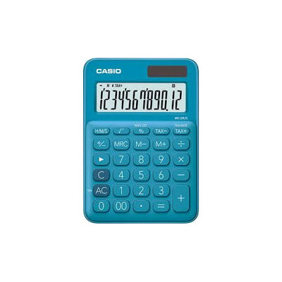 CALCULATRICE CASIO BUREAU MS-20UC-BU