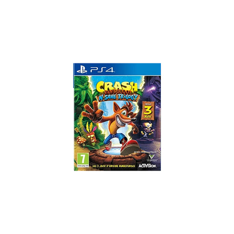 JEUX VIDEO CRASH BANDICOOT TRILOGY PS4