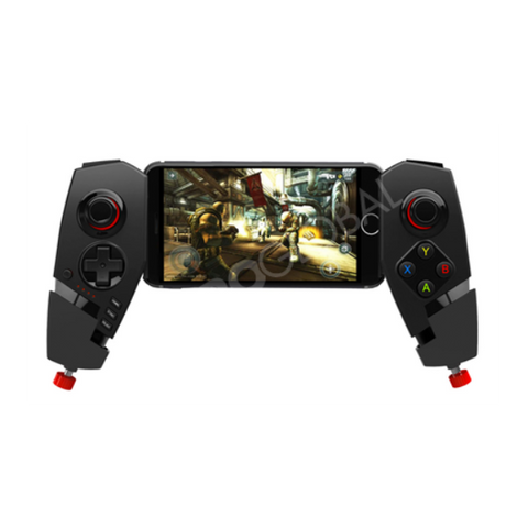Manette De Jeu Bluetooth - Compatible Tablette SmartPhones Android/iPhones/iPad/PC - Rechargeable - Noir