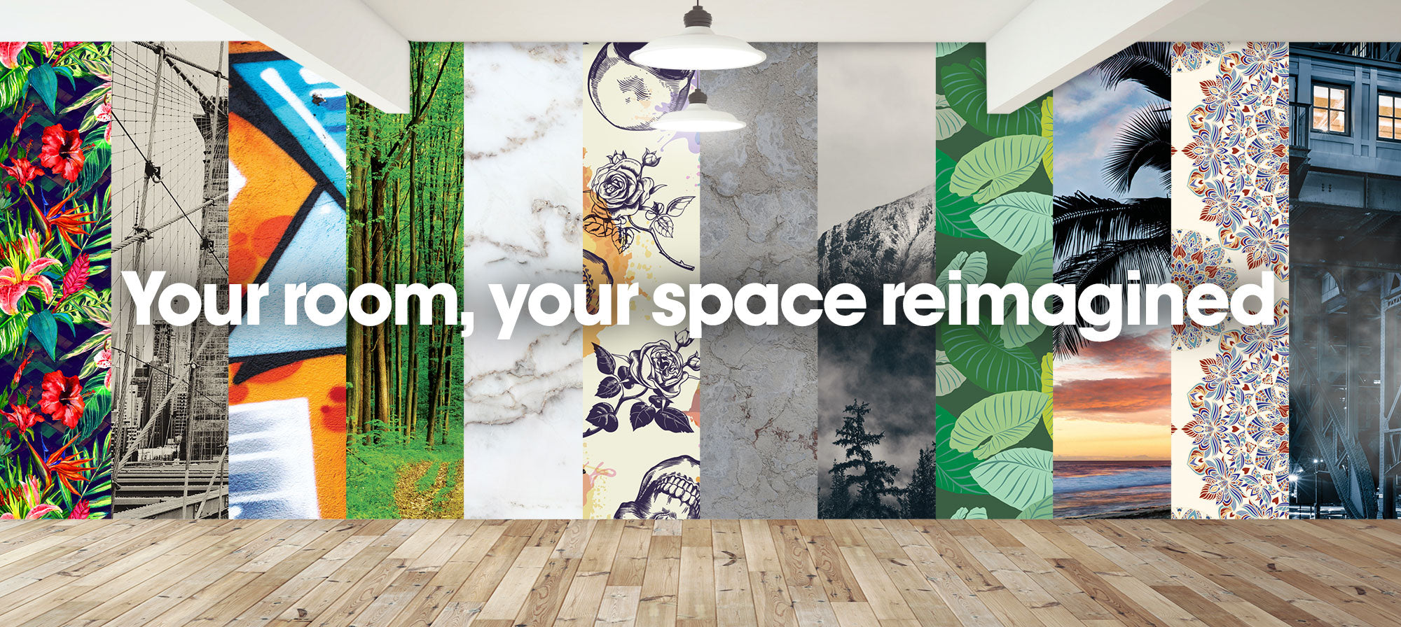 About us Change Your Scenery Banner