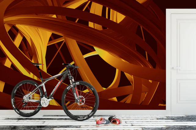Abstract Lines Bike