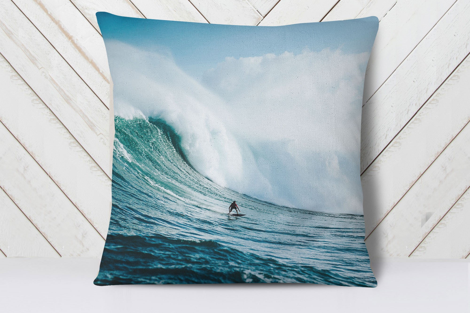 Adrenalin Surfer Cushion Cover