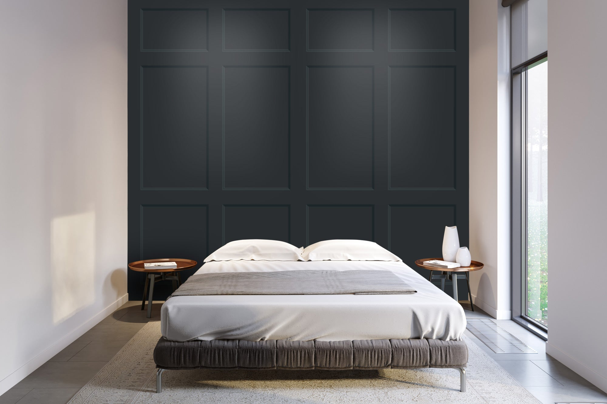 Avingdon Wall Panel bed