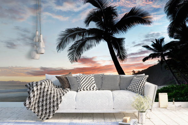 Life is a beach wallpaper murals