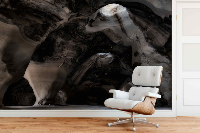 Bell Caves Living Room Wallpaper Mural