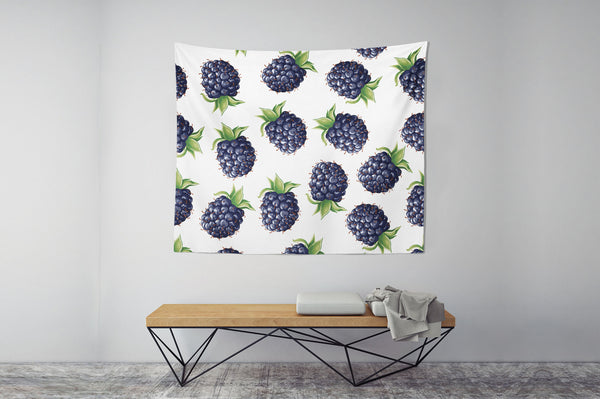 Blackberry Wall Tapestry