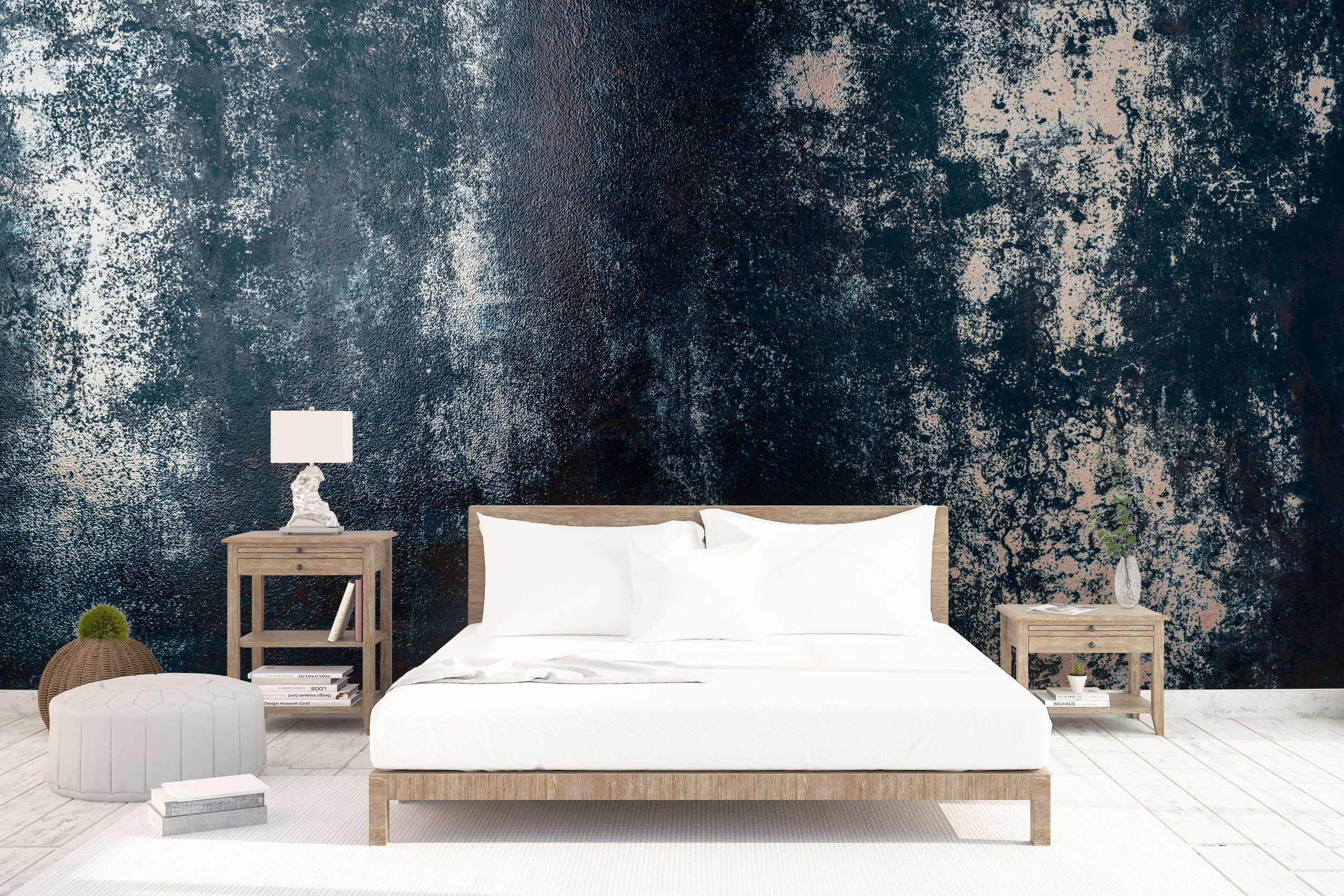 Blue Oxide Metal bed