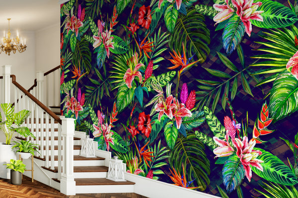 Botanical Wallpaper Mural