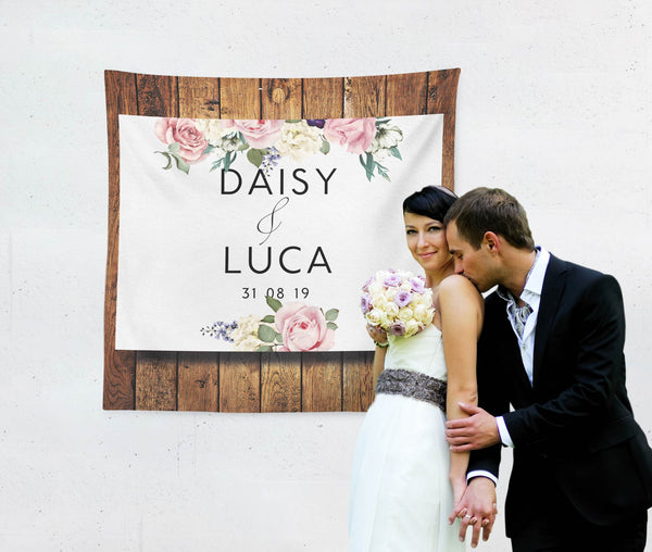 Rustic Wedding Backdrop