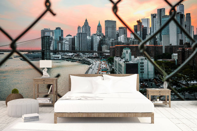 Brooklyn Bridge Cage Bed