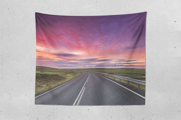 Colourful Road Wall Hanging Tapestry