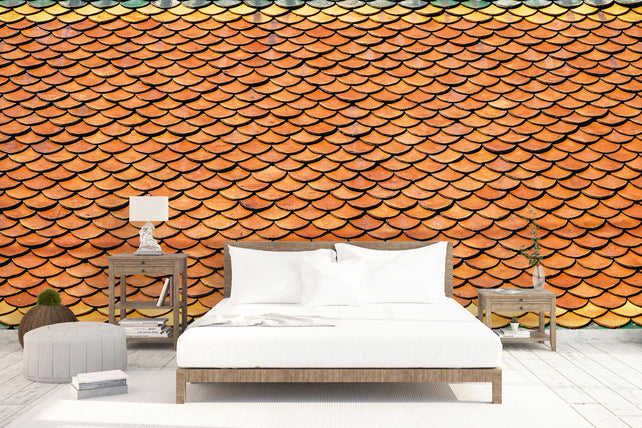 Colourful Tiles Bed