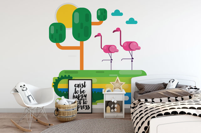 Animals Wallpaper Mural