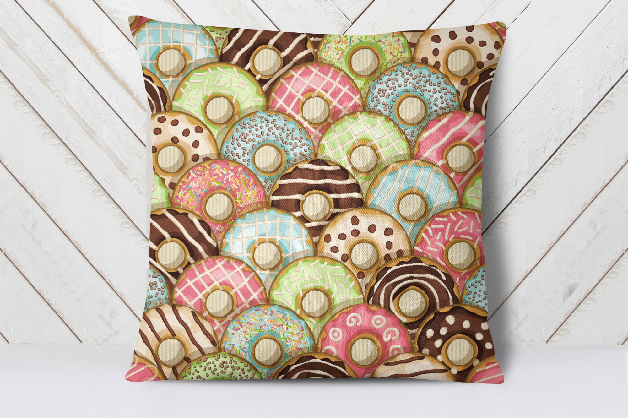 Doughnut Cushion Cover