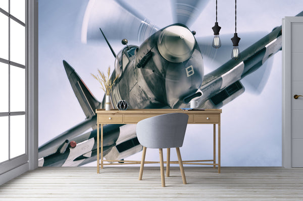 Eye To Eye With A Spitfire Desk