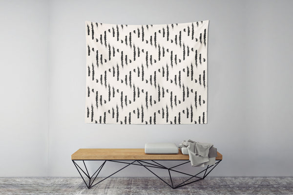 Geometric Lines Wall Tapestry