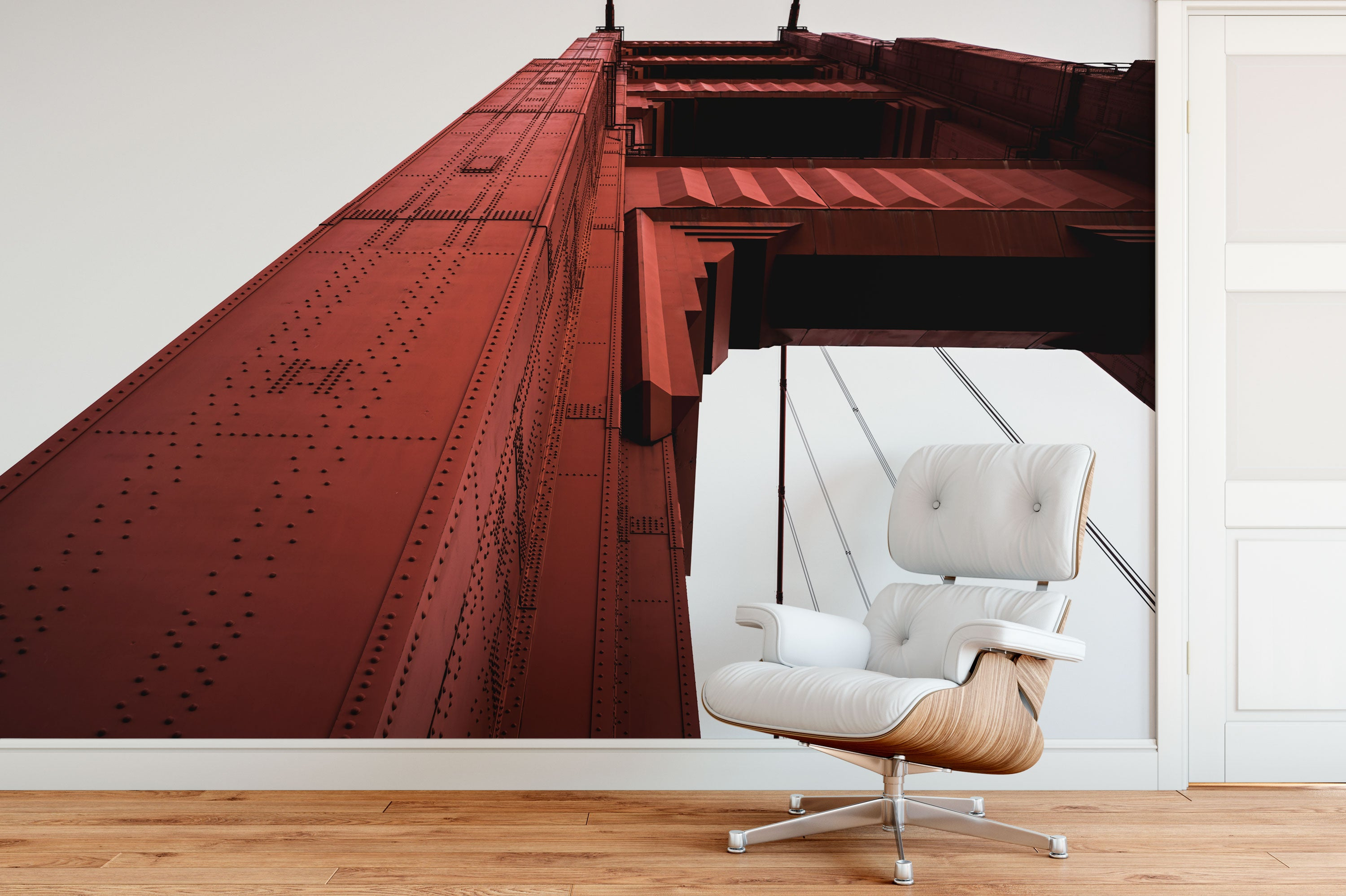 Golden Gate Bridge Steel Chair