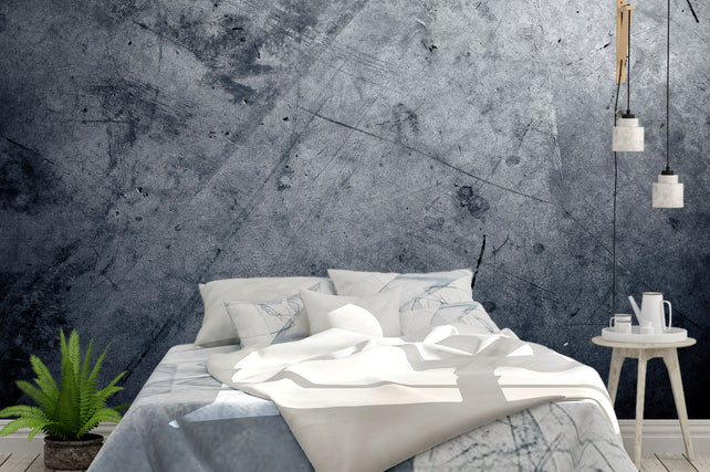 Grey Concrete Bed