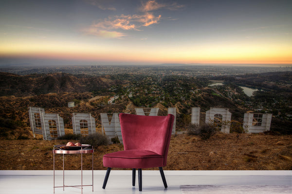 Hollywood Sign View Chair