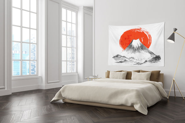 Mount Fuji Japan Wall Hanging Tapestry