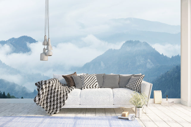 Mountain Blue - Feature Walls