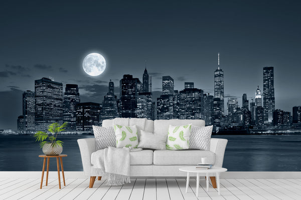 New York City At Night Sofa