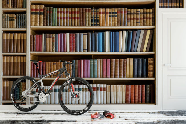 Old Book Collection Bike
