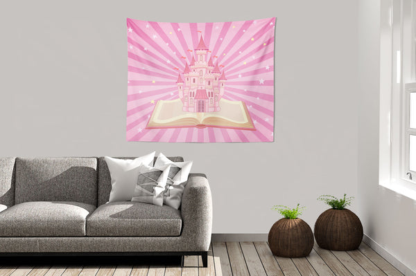 Princess Castle Wall Hanging Tapestry