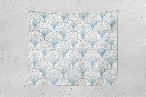 Retro Japanese Pattern Wall Tapestry