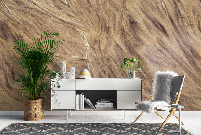 Sand Wallpaper Mural office