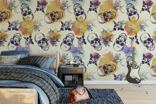 Skullz Wallpaper Murals
