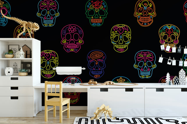 Sugar Skulls Wallpaper mural