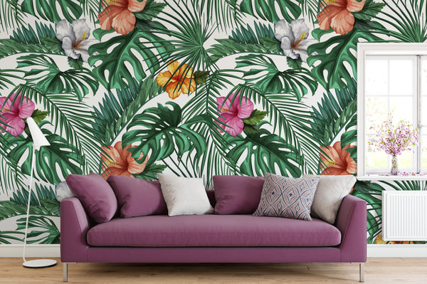 Tropical Wallpaper Mural
