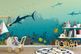 Under the sea wallpaper mural