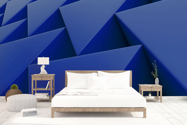 Wall Of Plastic Prisms Bed